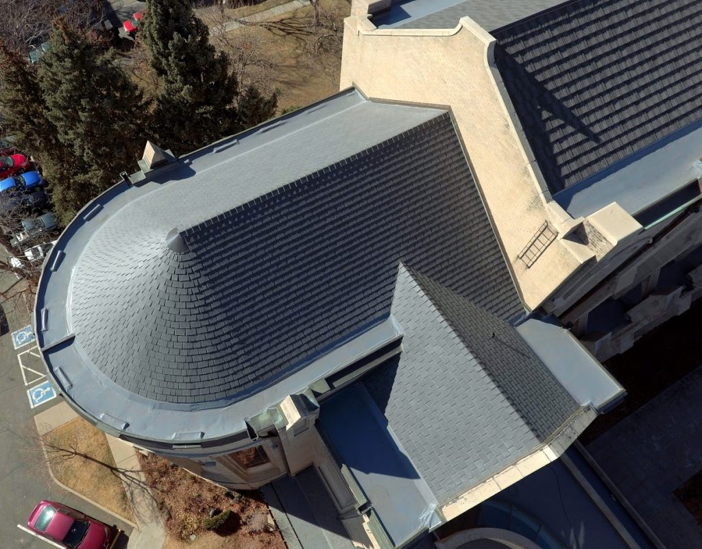 Church roof repair in Denver