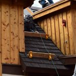Installing shingles on a roof